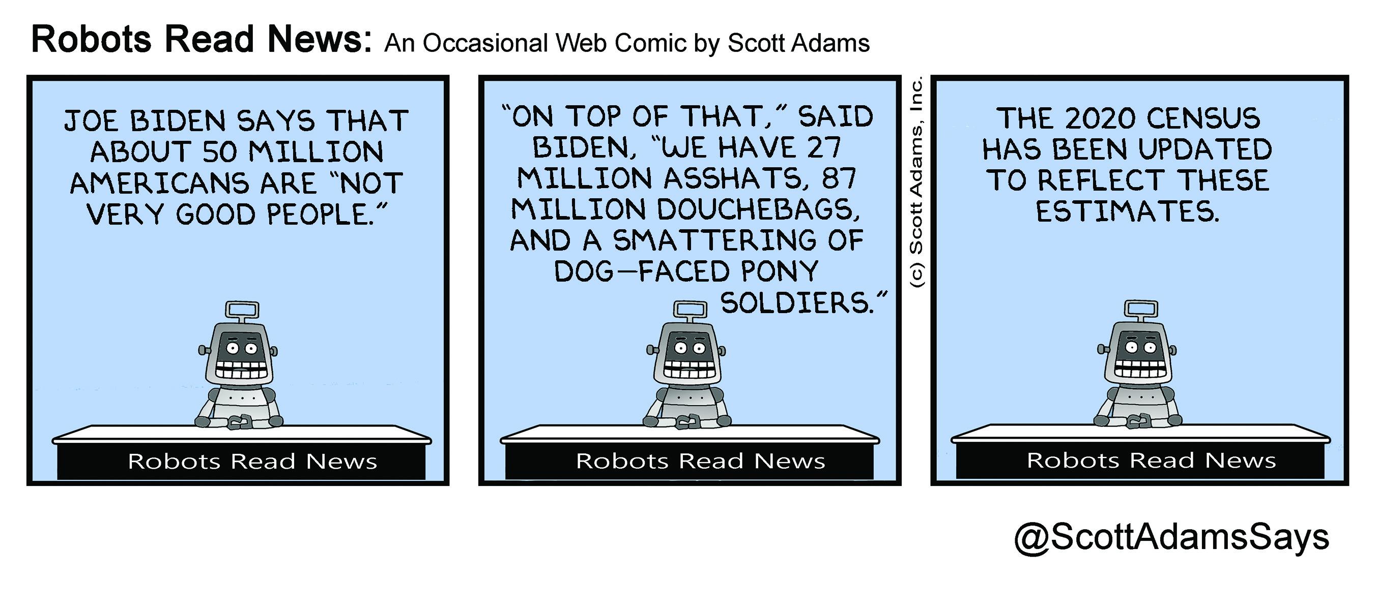 Robots Read News